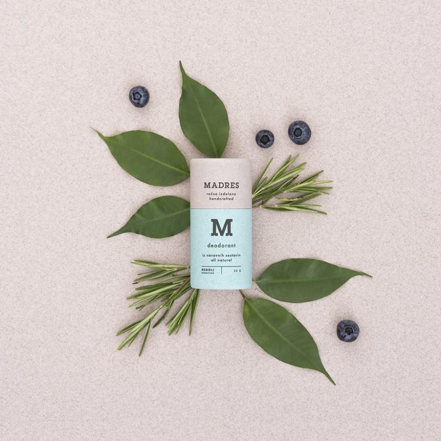 Madres Deodorant Neroli – brez sode bikarbone