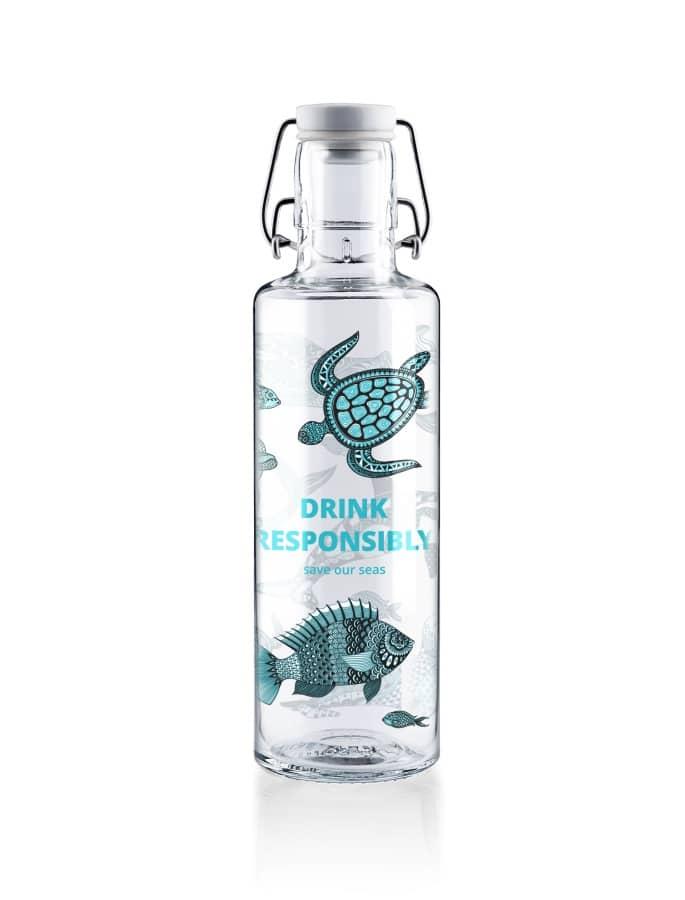 Steklenica Soulbottles Drink responsibly 0,6l