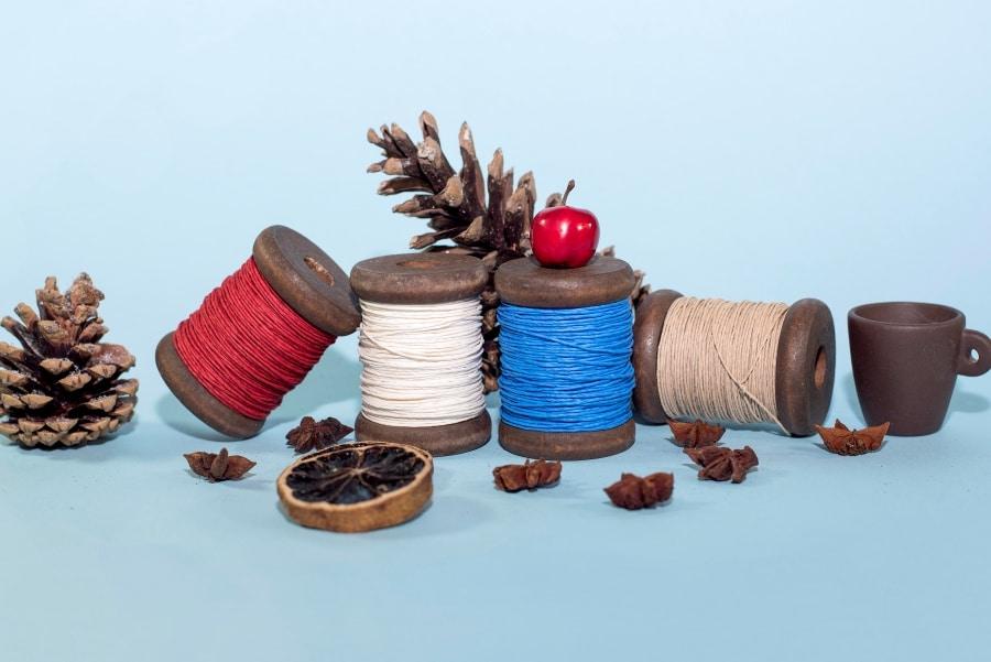 Vrvica na lesenem klobčiču 30m