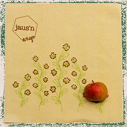Naravna folija za živila iz bio bombaža in voska – L