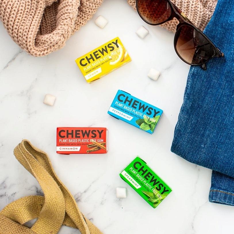 Veganski žvečilni gumi brez plastike – Chewsy