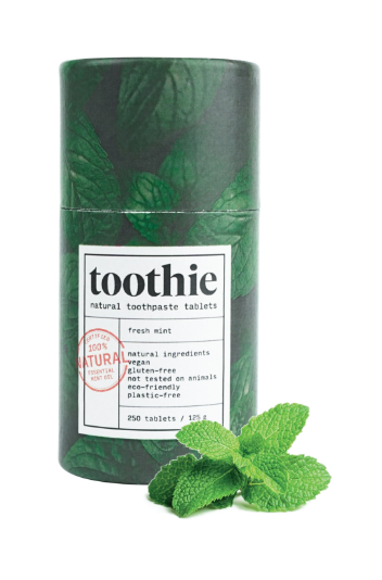 Zobna pasta v tabletkah MINT – Toothie